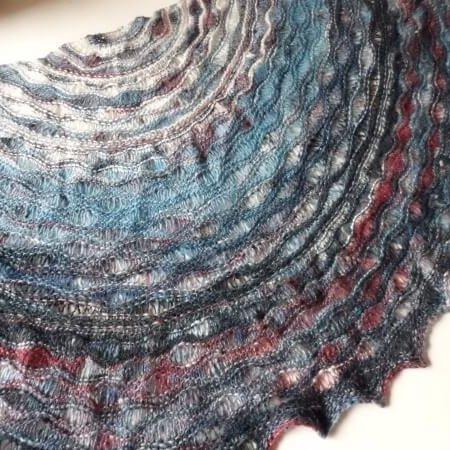 stormy seas shawl