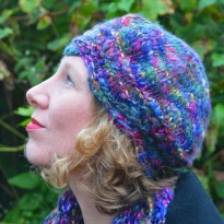 Gladiool hat by La Visch Designs