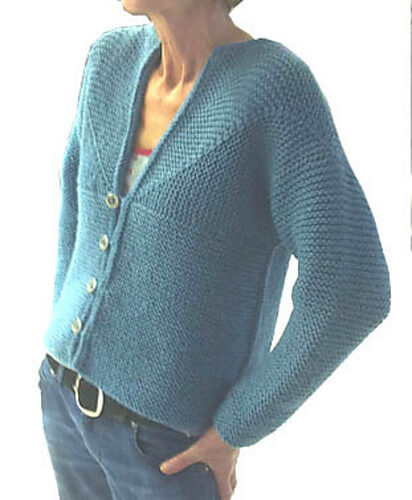 Adult Modular Cardigan Jacket