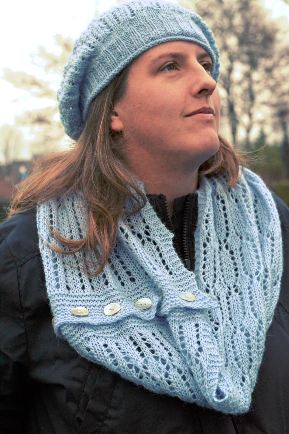 ijskristal convertible cowl/scarf