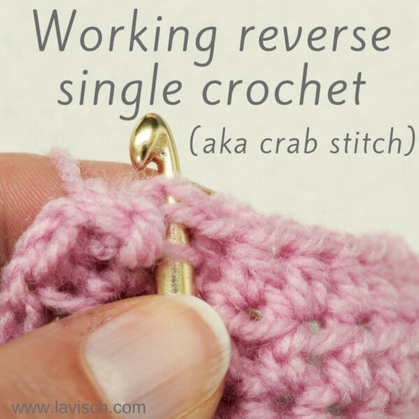 tutorial: reverse single crochet (rsc)
