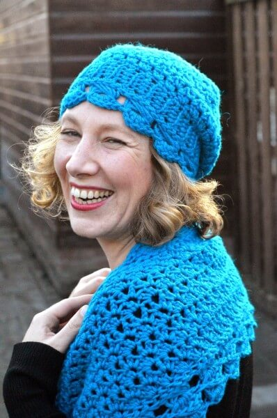 hugs & kisses hat & scarf set