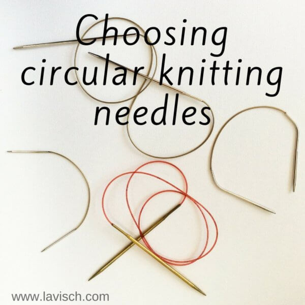 choosing circular knitting needles