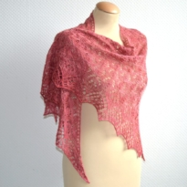 lelie shawl by La Visch Designs