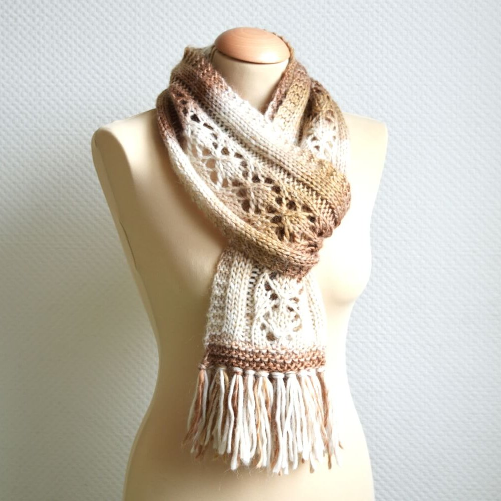 Brocaat Scarf by La Visch Designs