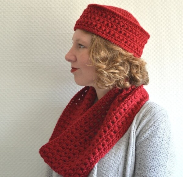 Paris Pilbox & Cowl