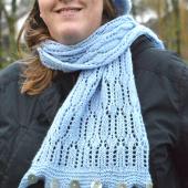 ijskristal convertible cowl/scarf by La Visch Designs