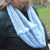ijskristal convertible cowl/scarf by La Visch Designs