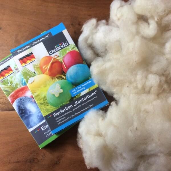 tutorial: dyeing wool
