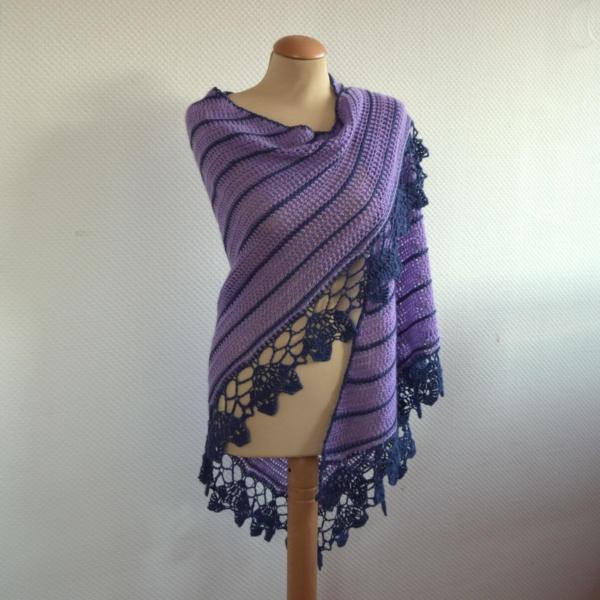 Sedum Shawl by La Visch Designs