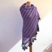 Sedum Shawl by La Visch Designs