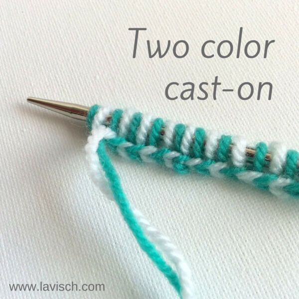 tutorial: a two-color cast-on