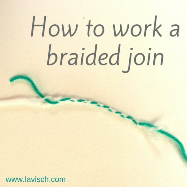 Braided join tutorial by La Visch Designs
