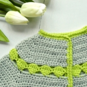 Stip Baby Cardigan by La Visch Designs
