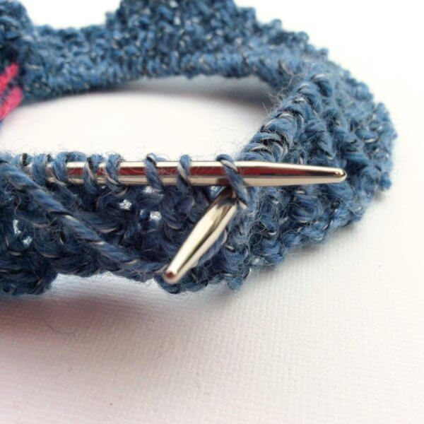 Rick rack rib in the round - a tutorial by La Visch Designs