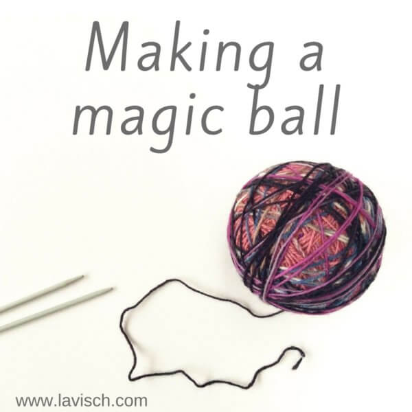 Making a magic ball - by La Visch Designs