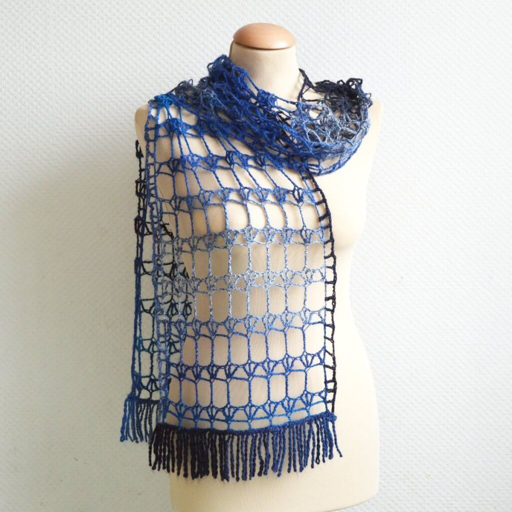 Crystal Palace, a crochet design by La Visch Designs