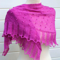 moerbei shawl by La Visch Designs