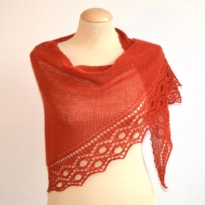 cirkels shawl by La Visch Designs