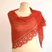 cirkels shawl by La Visch Designs