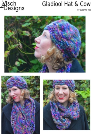 Gladiool Hat & Cowl set ebook by La Visch Designs