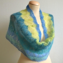 Zeeglas cowl by La Visch Designs
