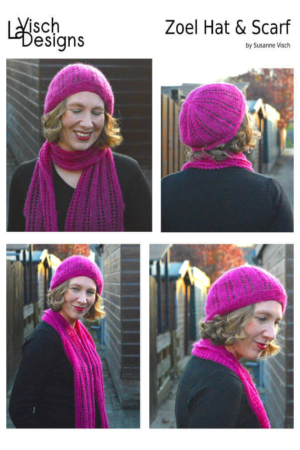 Zoel Hat & Scarf set ebook by La Visch Designs