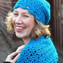 hugs & kisses hat by La Visch Designs