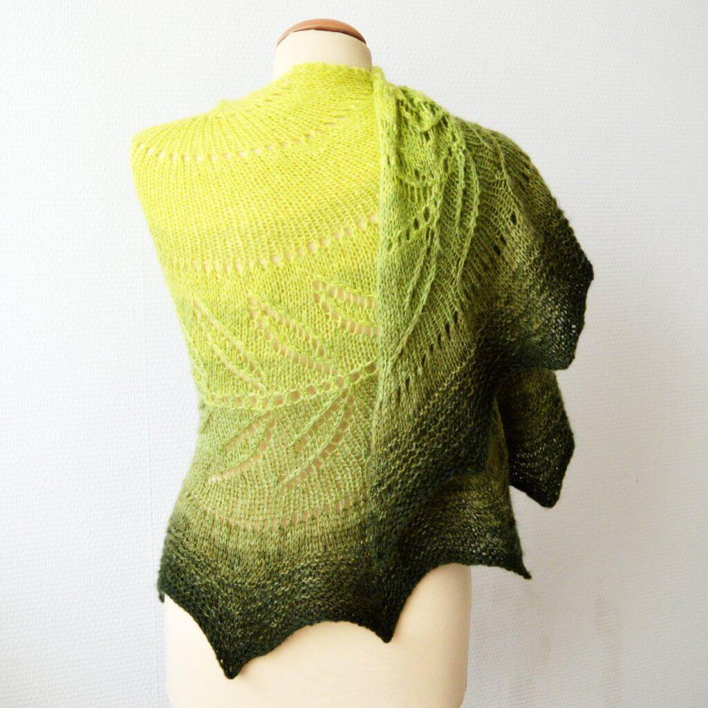 Green Madeira shawl