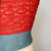 A shawl pattern by La Visch Designs