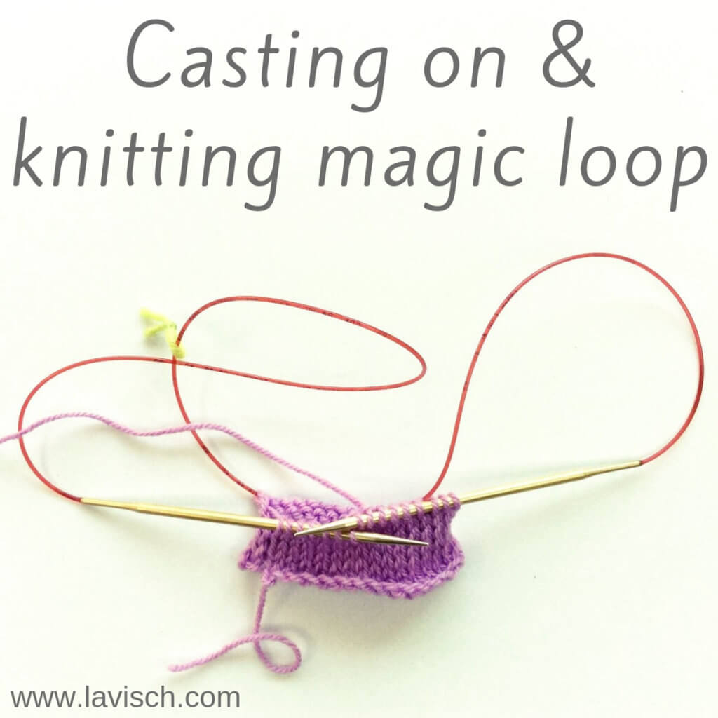 Knitting magic loop - a tutorial by La Visch Designs
