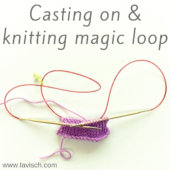 tutorial – casting on & knitting magic loop
