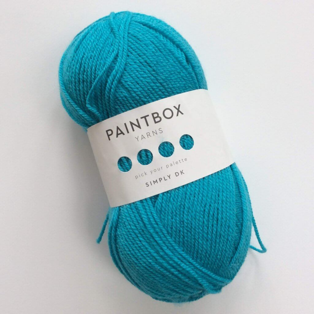Paintbox Simply DK yarn in Marine Blue