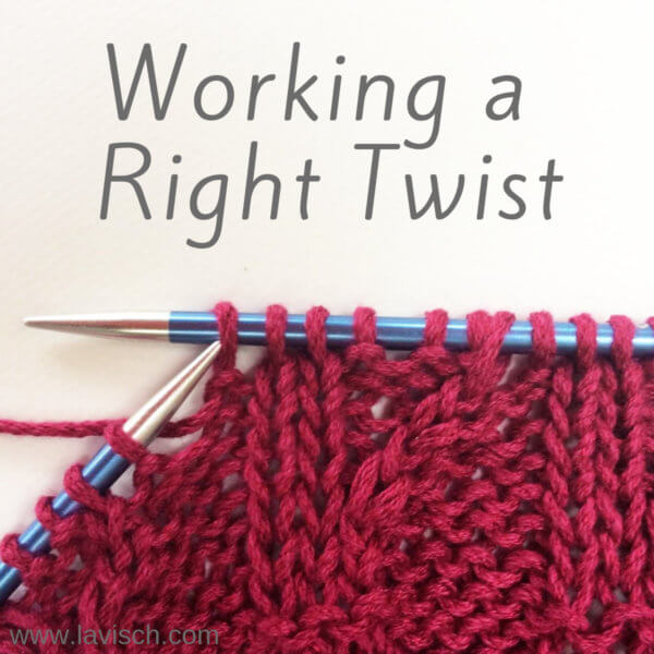 tutorial – working a Right Twist