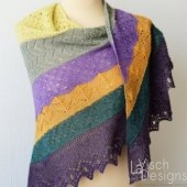Half Fade Hap in multiple colors
