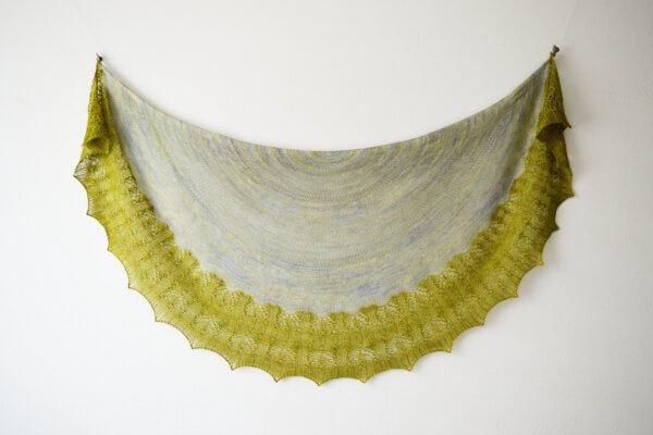 Ramalina A shawl design by La Visch Designs
