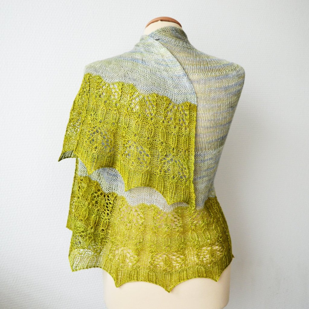 Ramalina shawl by La Visch Designs