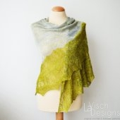Ramalina A shawl design by La Visch Designs