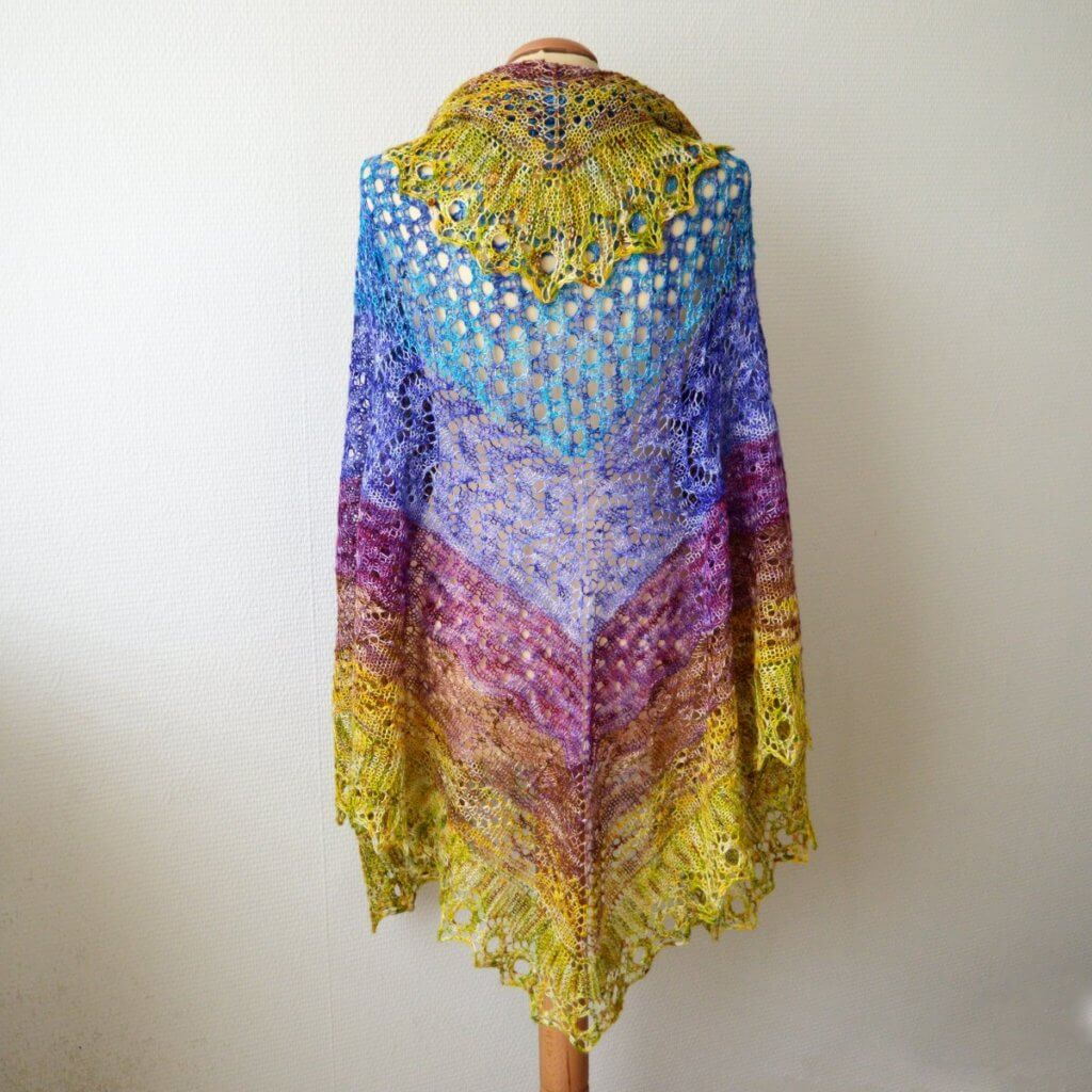 Full Fade Hap - a design by La Visch Designs
