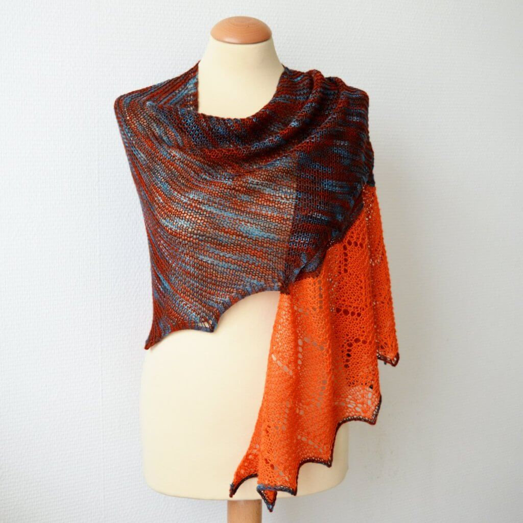 Monegros shawl by La Visch Designs