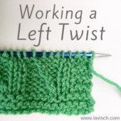 tutorial - working a Left Twist