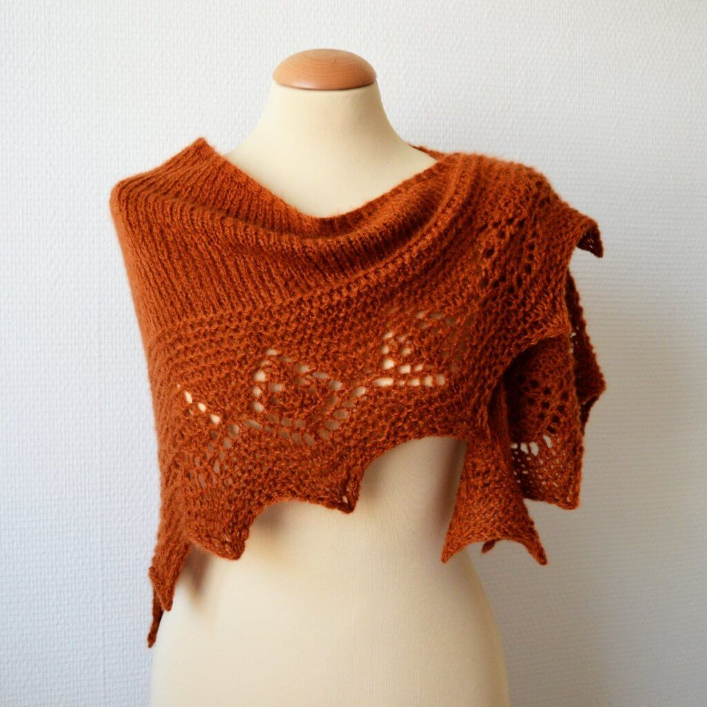 Kasjmier shawl by La Visch Designs