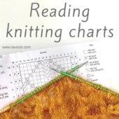 tutorial - reading knitting charts