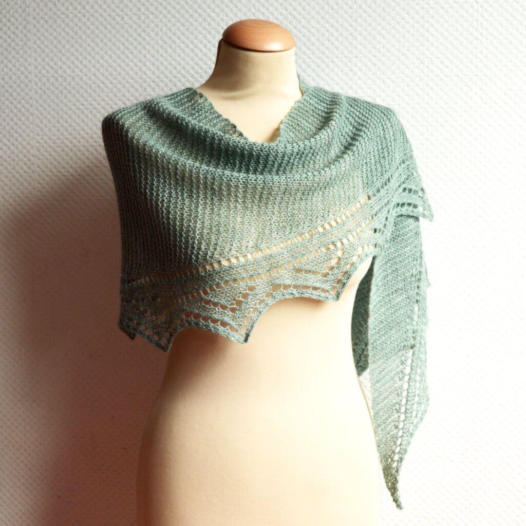 Duizendknoop shawl