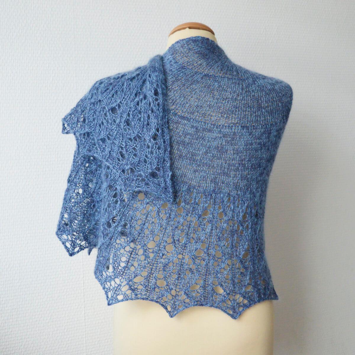 Ochtend Mist shawl
