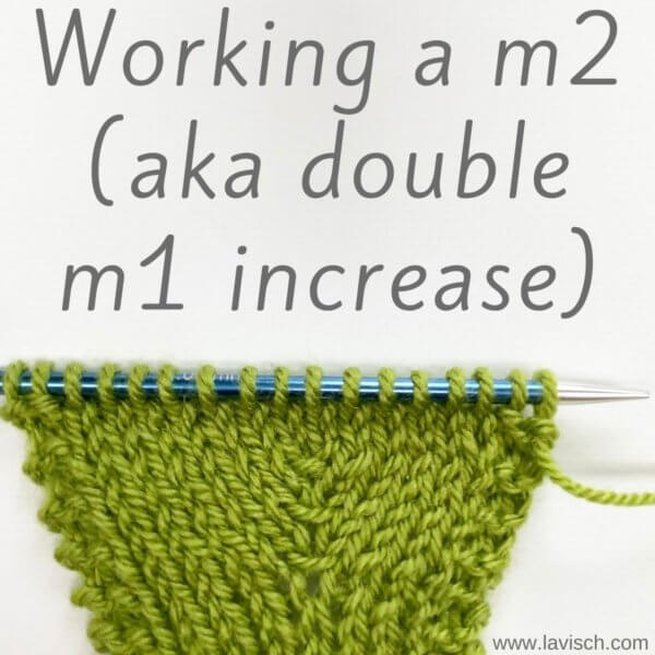 Working a m2 aka double m1 increase