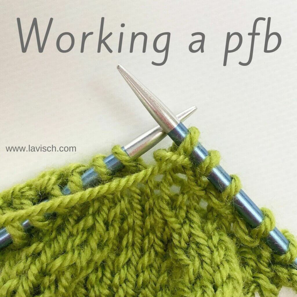 Tutorial - Working a pfb