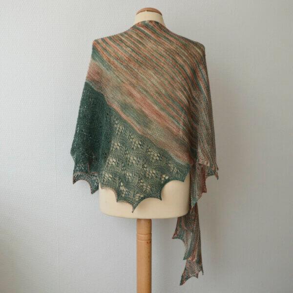 Green Jasper shawl
