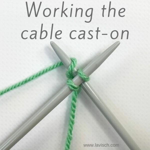 tutorial - the cable cast-on