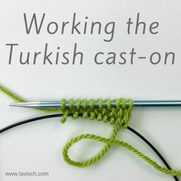 tutorial – working the Turkish cast-on